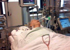 Hjerteoperasjon over. Til oppvåkning på postoperativ thorax