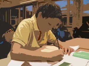 Baseskole setter konsentrasjonen på prøve
