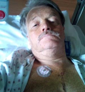 Dagene etter hjerteoperasjonen