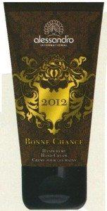 Alessand´ro 2012 Bonne Chance inneholder trolig ingen parabener, derimot en lang liste med andre for meg ukjente ingredienser. Blir dette en såkalt cocktaileffekt?