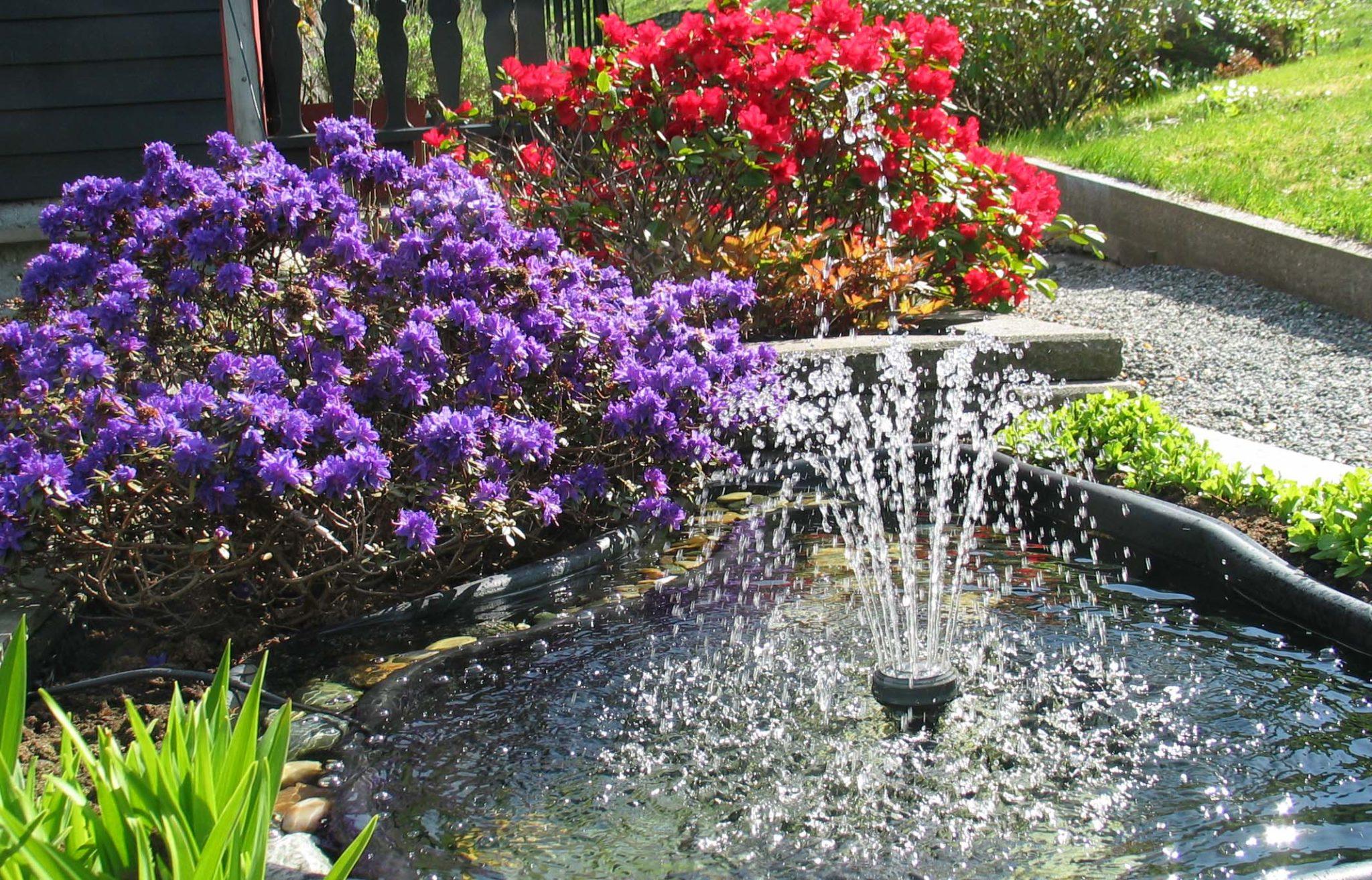 Hvis du ønsker anlegge en hage, et bed eller en balkongkasse - gjerne med tilhørende krukker og ampler, må du finne ut hvilken hage du drømmer om. (Foto: John Steffensen)