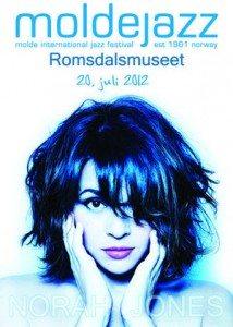 Norah Jones kommer til Molde i sommer
