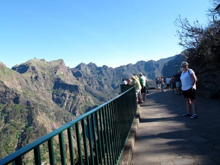Eira do Serrado - magnificent viewpointwww over Nuns Valley, Madeira. (Photo: www.johnsteffensen.no)