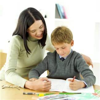 Det at du som forelder bryr deg, skaper motivasjon for skolearbeidet.