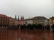 I Burgos stopper jeg for denne gangen. Mange gjør det, eller tar en pause her. (Foto: Vigdis Asmervik Taule)