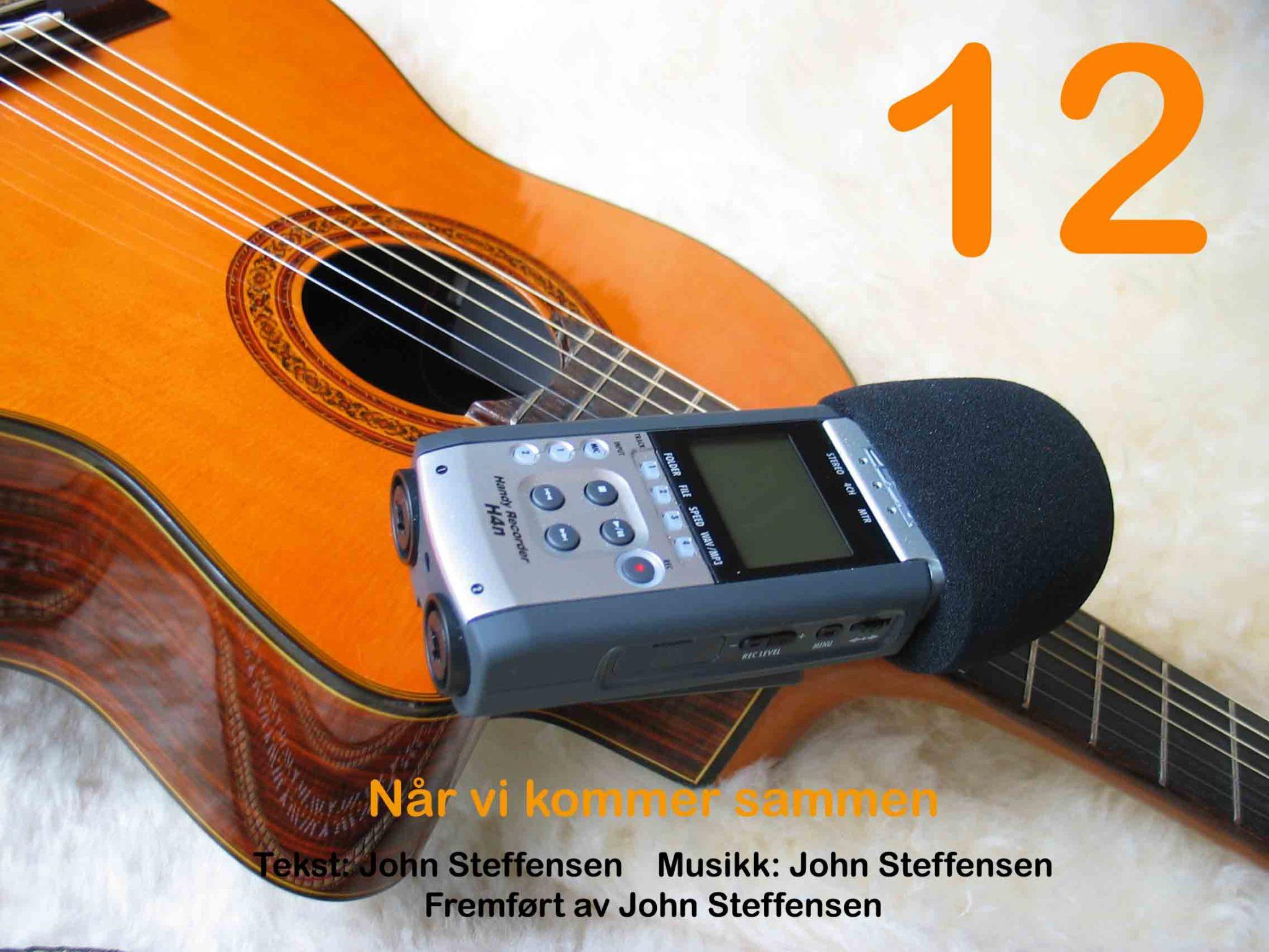 Sang 12 kan høres ved å klikke YouTube-firkanten lenger nede på siden.