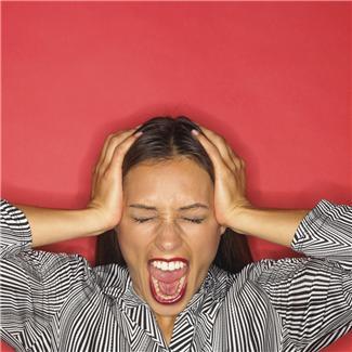 Stress... Tre stressituasjoner samtidig kan bli mer enn de fleste makter...