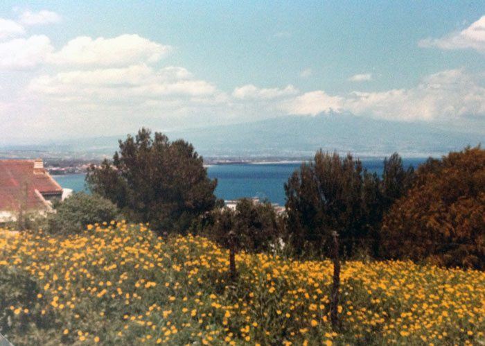 Sicilia er frodig og vakker på alle måter, en øy å bli henført av. (Foto: Britt Hilt Caspersen)