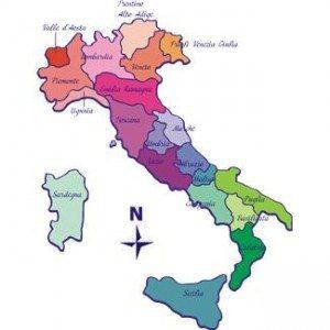 """Sicilia er """"ballen"""" som støvelen (Italia) treffer."""