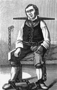 """Mestertyv Gjest Bårdsen utførte en heltedåd i forbindelse med """"Den gale mandagen"""", 11. mars 1822"""