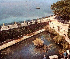 Arethusa-kilden i Siracusa (Sicilia)