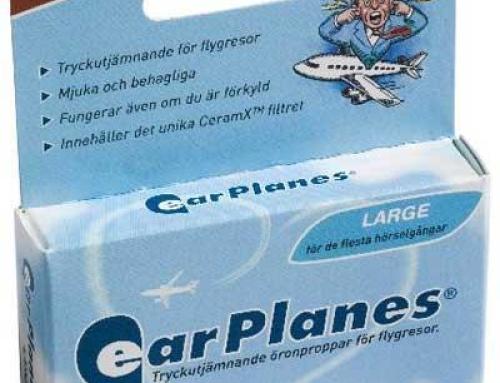 Dotter i ørene – ikke noe problem med EarPlanes?