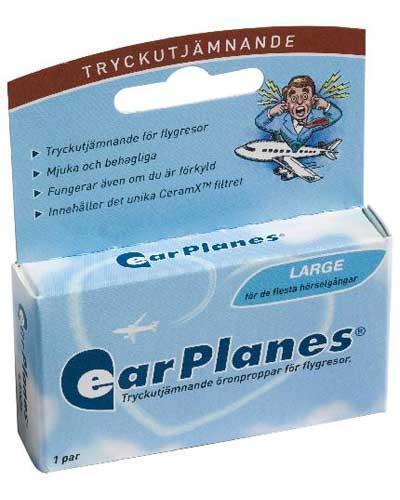 EarPlanes er ørepropper som bare skal brukes under flyvning. Når disse brukes riktig, vil dotter i ørene ikke bli noe problem. Dette i følge produsenten og diverse tilbakemeldinger fra fornøyde brukere via Tripadvisor. Johnsteffensen.no vil senere i år formilde egne erfaringer med EarPlanes.