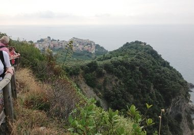 Corniglia, Cinque Terre (Foto: Britt Hilt Caspersen)