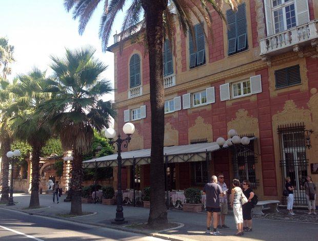 Grand Hotel Villa Balbi i Sestri Levante. (Foto: Britt Hilt Caspersen)