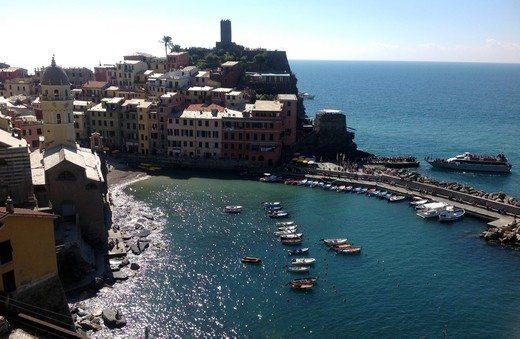Vernazza er etter min mening den vakreste av byene i Cinque Terre. (Foto: Britt Hilt Caspersen)