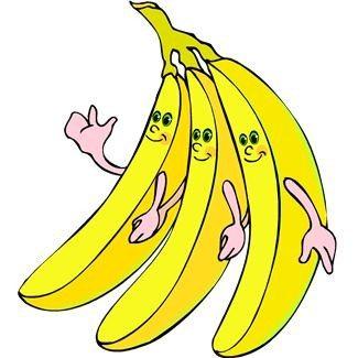 Bananer er rik på kalium, og sammen med andre kaliumrike matkilder som tomatpuré, bakte poteter, yoghurt, honningmelon og lima bønner, kan bananene bidra til at kaliuminntaket blir større. Det vil være meget sunt!