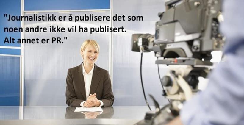 Kloke ord om sannhetssøkende journalistikk. www.johnsteffensen.no