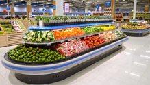 Nordby Supermarkets frukt- og grønnsaksavdeling