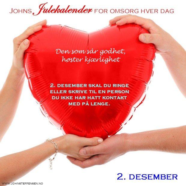 2 Johns julekalender www.johnsteffensen.no