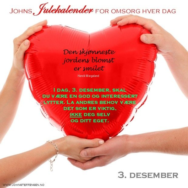 3 Johns julekalender www.johnsteffensen.no