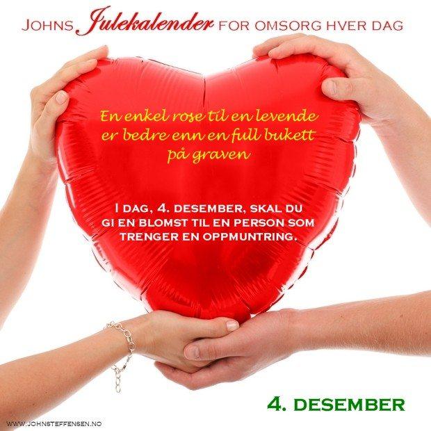 4 Johns julekalender www.johnsteffensen.no