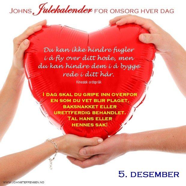 5 Johns julekalender www.johnsteffensen.no