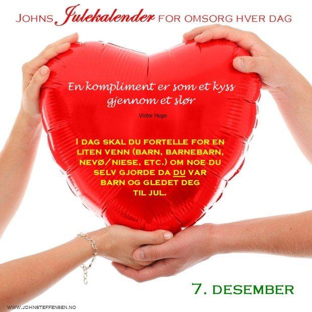 7 Johns julekalender www.johnsteffensen.no