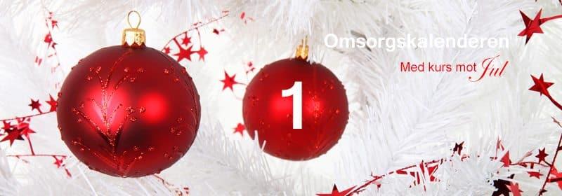 01 Omsorgskalenderen - Med kurs mot Jul... www.johnsteffensen.no