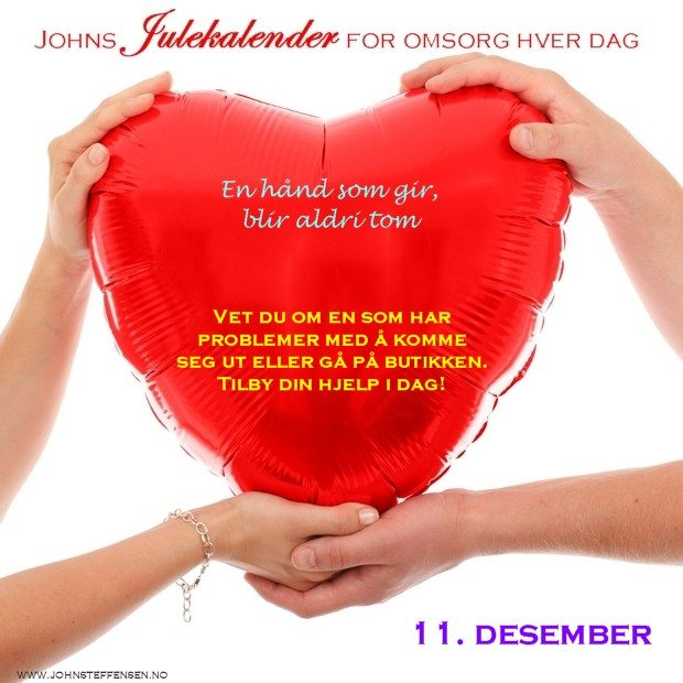 11 Johns julekalender www.johnsteffensen.no