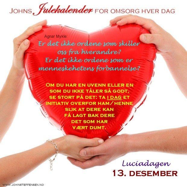 13 Johns julekalender www.johnsteffensen.no