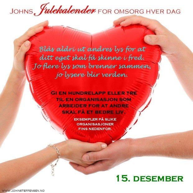 15 Johns julekalender www.johnsteffensen.no