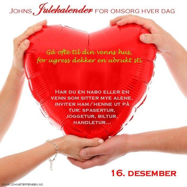 16 Johns julekalender www.johnsteffensen.no