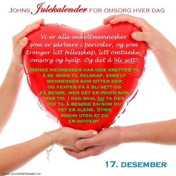 17 Johns julekalender www.johnsteffensen.no