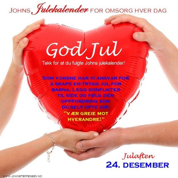 24 Johns julekalender www.johnsteffensen.no