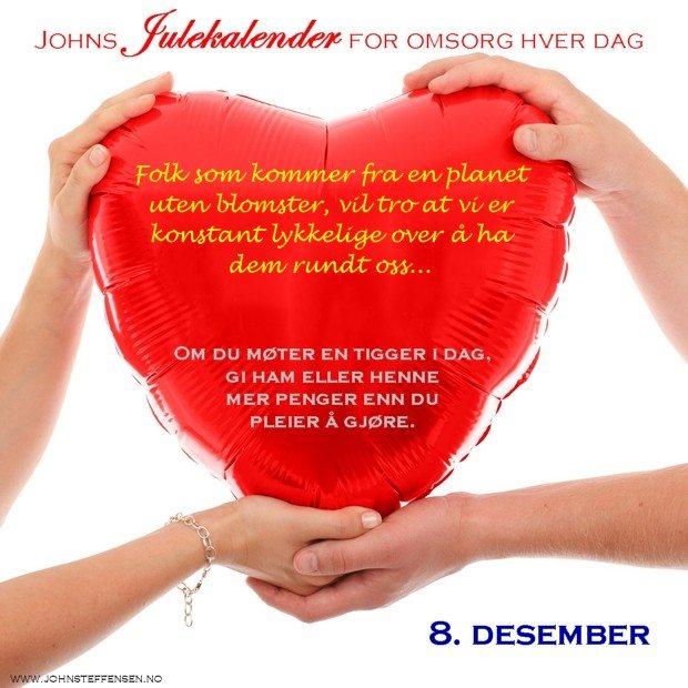 8 Johns julekalender www.johnsteffensen.no