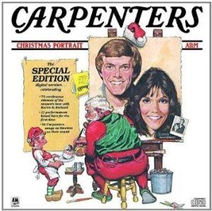 Carpenters platecover fra 1978 - Christmas portrait