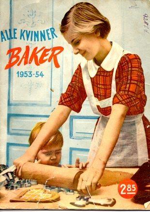 Forside ALLE KVINNER BAKER 1953-54