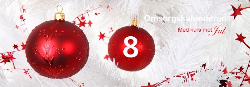 8. desember. En annerledes adventskalender. Hvordan vise omsorg i hverdagen... www.johnsteffensen.no