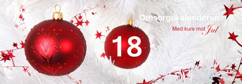 18. desember. En annerledes adventskalender. www.johnsteffensen.no