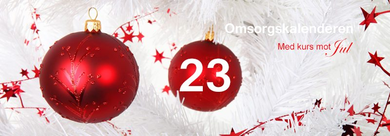 23. Johns julekalender. En annerledes adventskalender. www.johnsteffensen.no