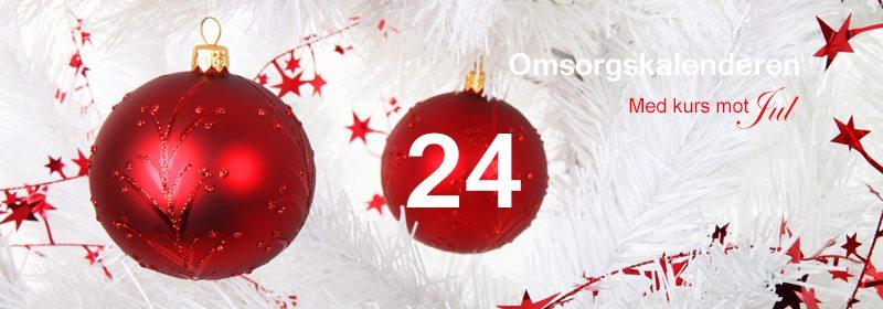 24. Johns julekalender. En annerledes adventskalender. www.johnsteffensen.no