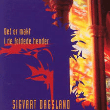 Det er makt i de foldede hender. Platecoveret fra 1995.