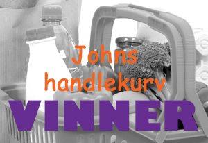 VINNER Johns handlekurv 2015 Forside
