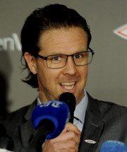 Rikard Norling, Branns trener. (Foto - brann.no)
