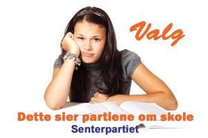 Senterpartiet mener at skolehverdagen ikke trenger å være lik over alt