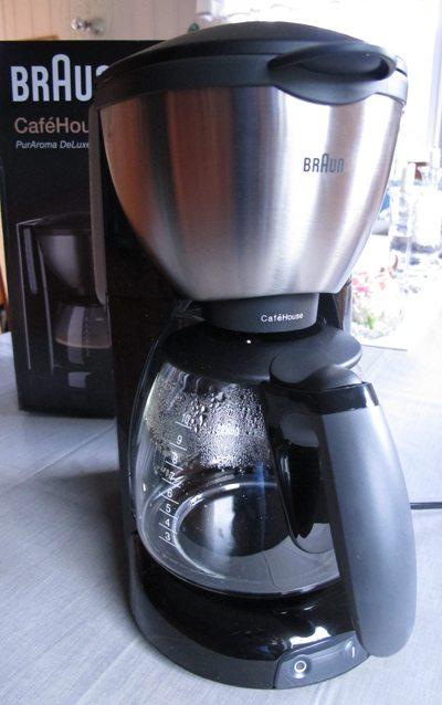 Braun kaffetrakter