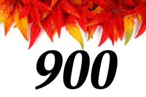 900 originalskrevne innlegg