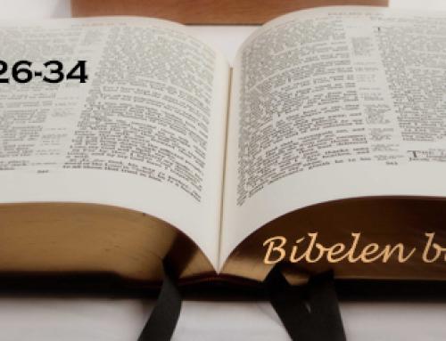 Bibelen blir sunget