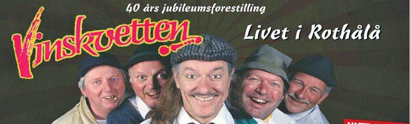 Livet i Rothålå er Vinskvettens jubileumsforestilling på Ricks senhøstes 2015.